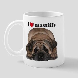 i love mastiffs Mugs