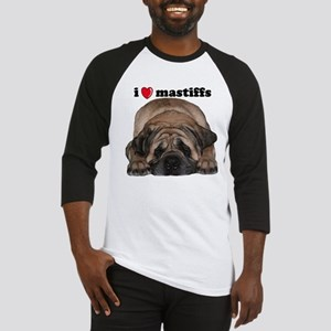 i love mastiffs Baseball Jersey