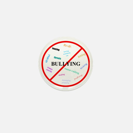 No bullying Mini Button
