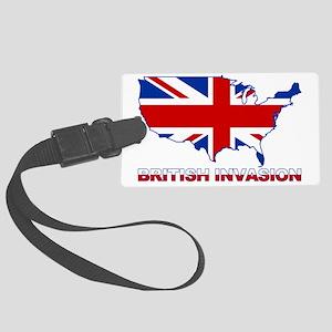 UK INVASION (US ma Large Luggage Tag