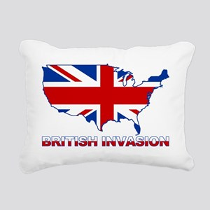 UK INVASION (US ma Rectangular Canvas Pillow