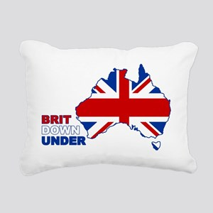 BRIT-UNDER Rectangular Canvas Pillow