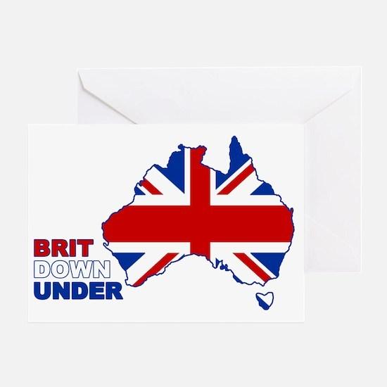 BRIT-UNDER Greeting Card