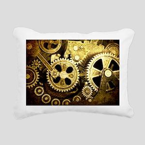 laptop gears Rectangular Canvas Pillow