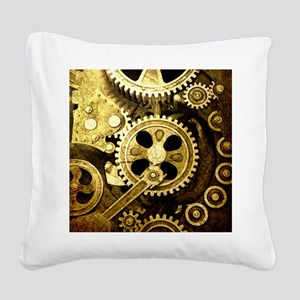 IPAD STEAMPUNK Square Canvas Pillow