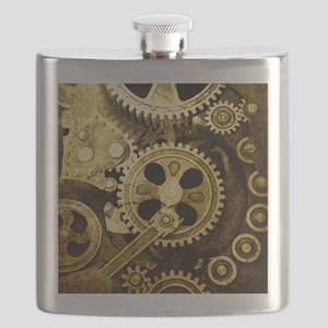 IPAD STEAMPUNK Flask