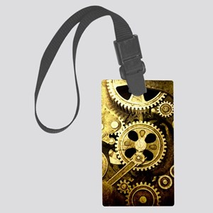 IPAD STEAMPUNK Large Luggage Tag
