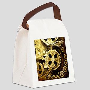 IPAD STEAMPUNK Canvas Lunch Bag