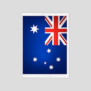 Australia (iPad2) 5'x7'Area Rug