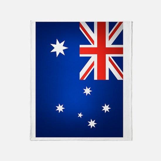 Australia (iPad2) Throw Blanket
