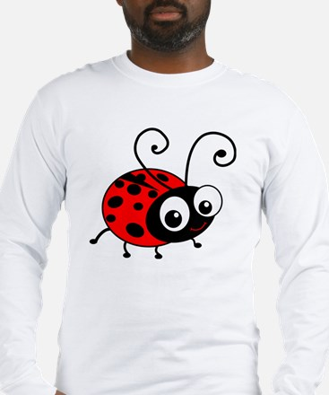 Cute Ladybug Long Sleeve T-Shirt