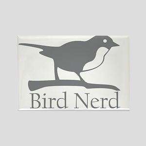 bird-nerd Rectangle Magnet
