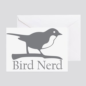 bird-nerd Greeting Card