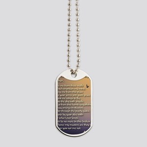 Alzheimers_prayer_calligrapher_tals_minis Dog Tags