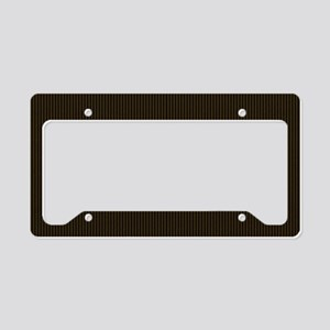 yellowlabbigbag License Plate Holder