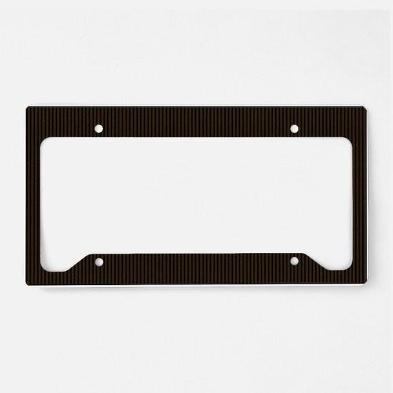 yellowlabbigbag License Plate Holder