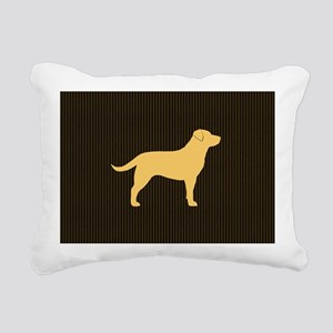 yellowlabbigbag Rectangular Canvas Pillow