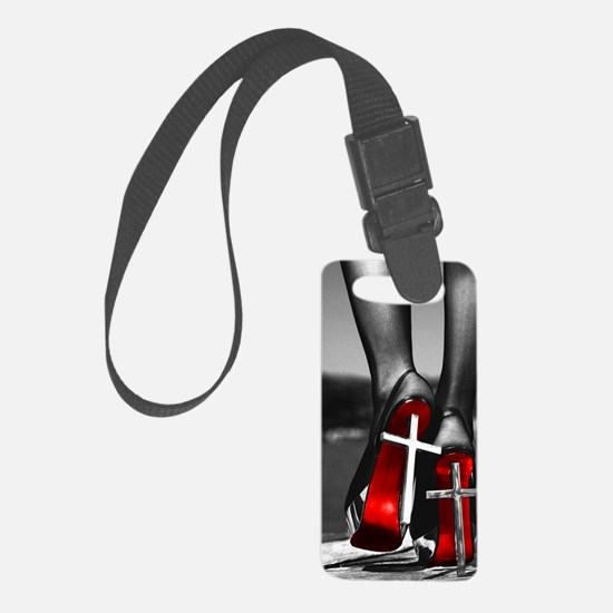 Red Bottoms Luggage Tag