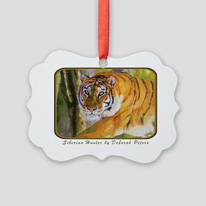 Tiger Art II Picture Ornament