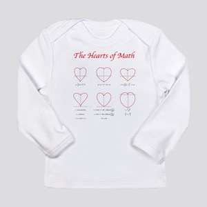 Hearts Curves/Surface Long Sleeve T-Shirt
