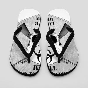 1d519f3373fec3 Zombie Response Team Lubbock Flip Flops