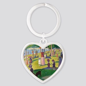 RM Seurat J2 Heart Keychain