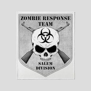 Zombie Response Team Salem Throw Blanket