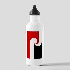 Maori Flag (iP4 half) Stainless Water Bottle 1.0L