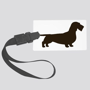 wirehaireddoxiechocrght Large Luggage Tag