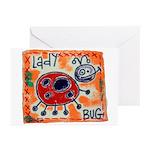 ladybug Greeting Cards (Pk of 10)