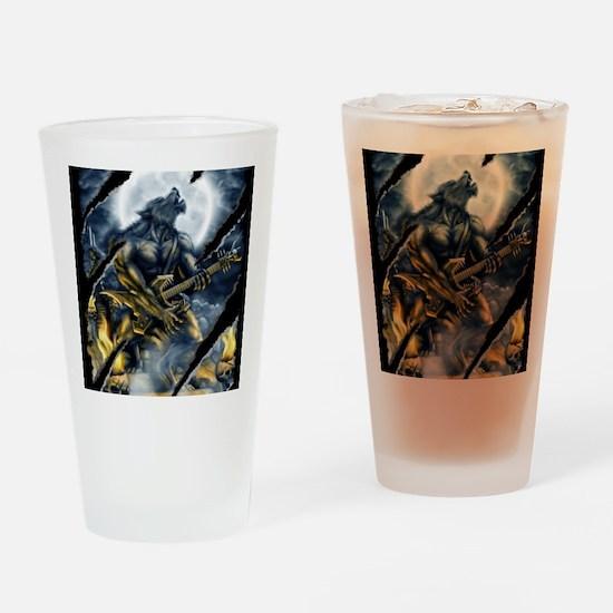wolfshirt Drinking Glass