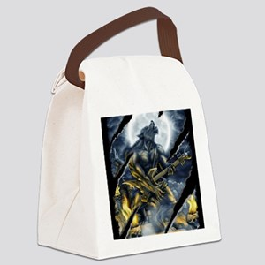 wolfshirt Canvas Lunch Bag