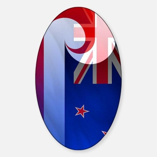 NZ-Aot (incred2) Sticker (Oval)