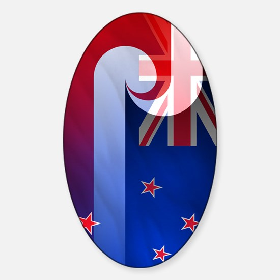 NZ-Aot (iTh4) Sticker (Oval)