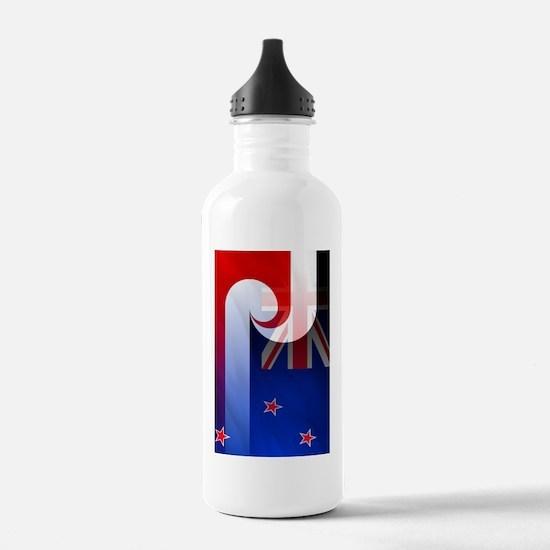 NZ-Aot (ipad2) Water Bottle