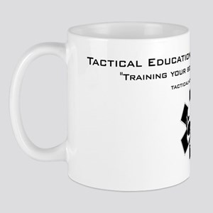 Tacmed Logo with Skull Mug