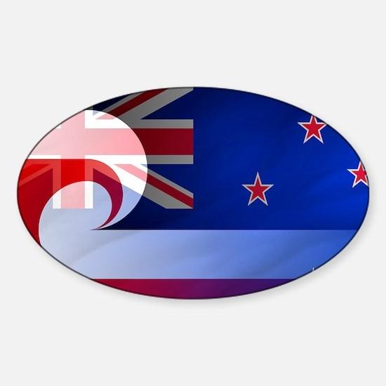 NZ-Aot (Laptop Skin) Sticker (Oval)