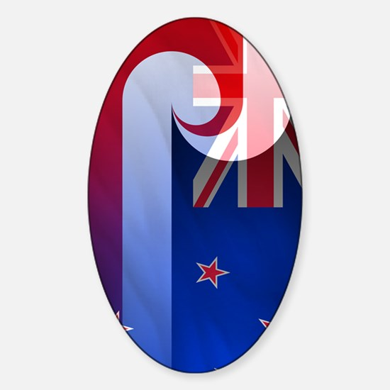 NZ-Aot (nexus s) Sticker (Oval)