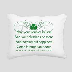 Irish Blessing 1 Rectangular Canvas Pillow
