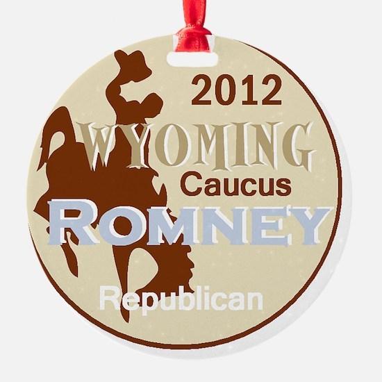Romney WYOMING Ornament