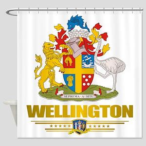 Wellington Flag 10 2 Shower Curtain