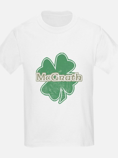 """Shamrock - McGrath"" Kids T-Shirt"