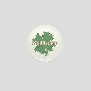 """Shamrock - McGrath"" Mini Button"