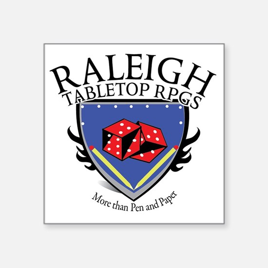 "RTR Logo large Square Sticker 3"" x 3"""