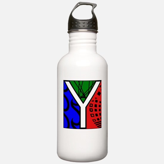 TNYITmasterREVERSEDwhi Water Bottle