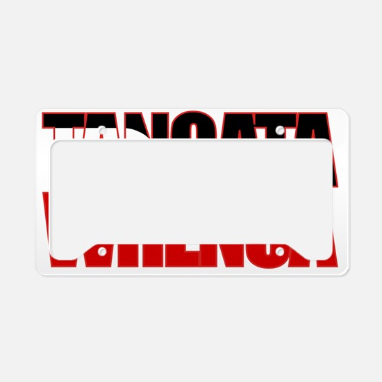 Tangata Whenua (fill) License Plate Holder