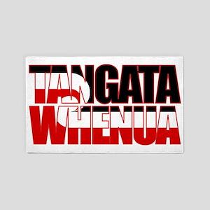 Tangata Whenua (fill) 3'x5' Area Rug