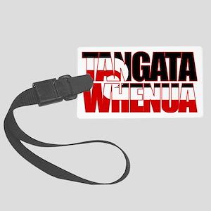 Tangata Whenua (fill) Large Luggage Tag