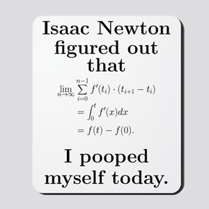 Newton Mousepad
