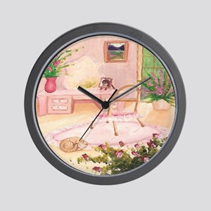 powder-room Wall Clock